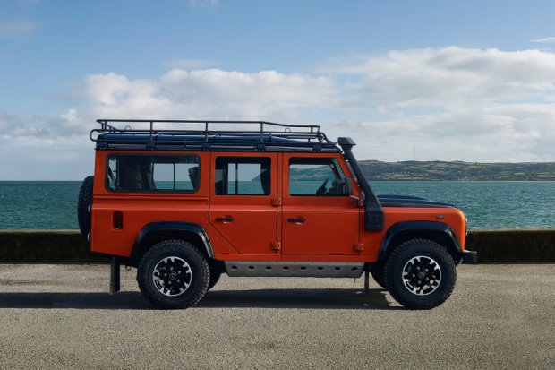 Land Rover Defender Adventure Limited Edition