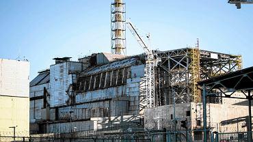 2015 r. Okolice elektrowni w Czarnobylu