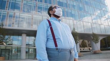 W przypadku otyłości maseczka jako zabezpieczenie może nie wystarczyć,