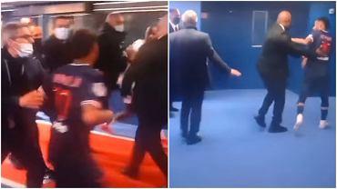 Neymar sprzeczał się z Tiago Djalo po tym, jak obaj zobaczyli czerwone kartki w meczu PSG z Lille