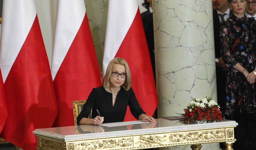 Media spekulowały, że Teresa Czerwińska pożegna się ze stanowiskiem minister finansów