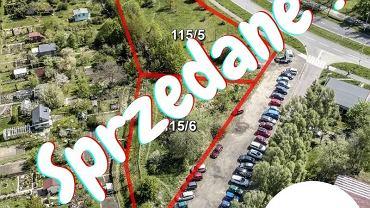 InVałbrzych informuje o sprzedaży działki na Podzamczu