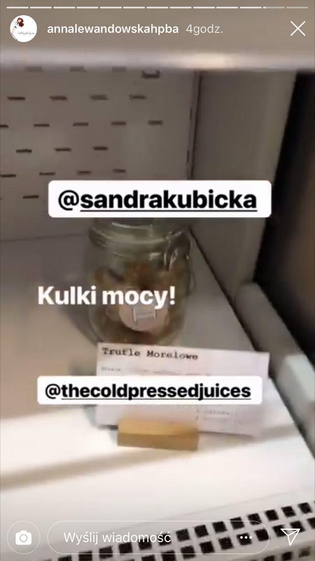 Anna Lewandowska zrobiła zakupy u Sandry Kubickiej