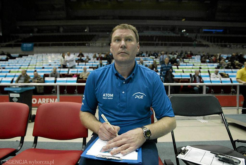 Trener Atomu Adam Grabowski