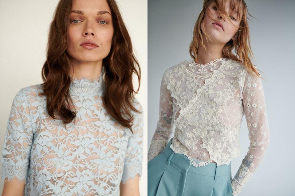 Ażurowe i koronkowe bluzki to must have na lato 2020!