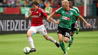 Legia przegrała z Wisłą w Krakowie 0:1