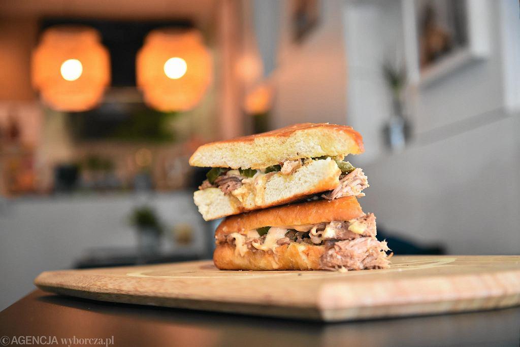 La Chica Sandwicheria. Bar z kubańskimi kanapkami przy ul. Solec 50 / FRANCISZEK MAZUR