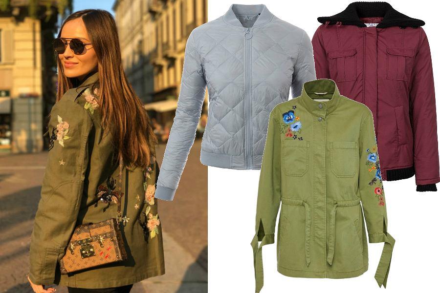 Przejściowe kurtki na jesień