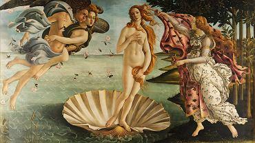 'Narodziny Wenus' - Sandro Botticelli.