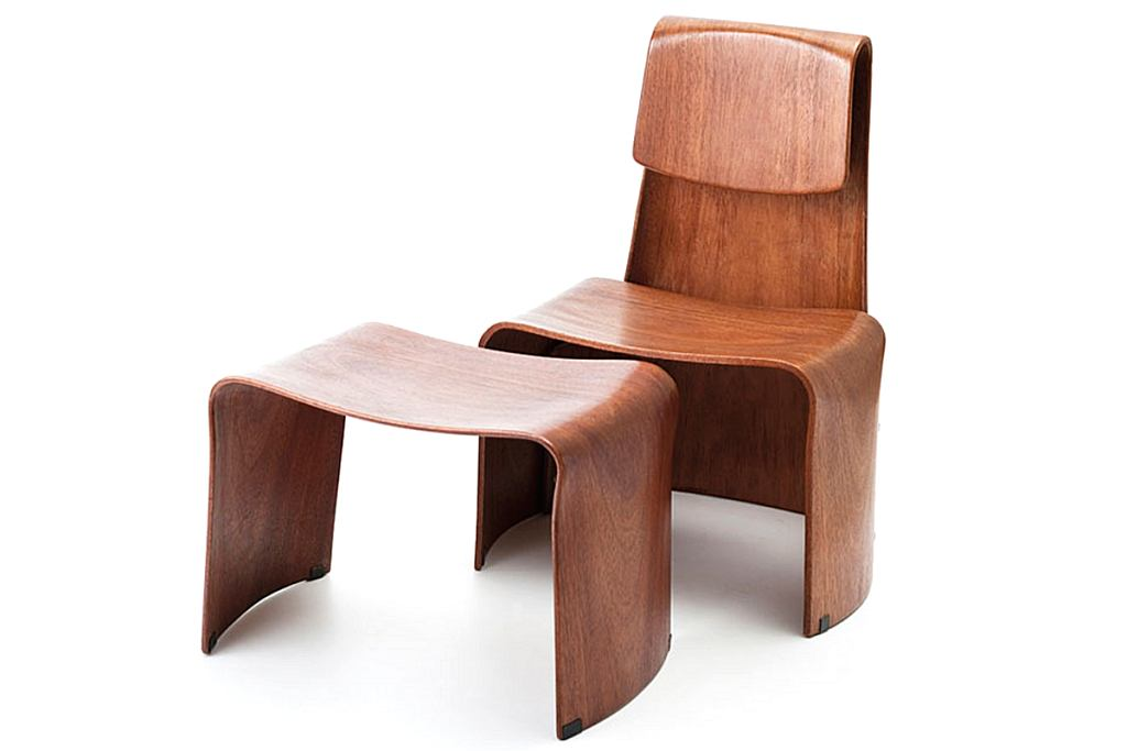 Krzesło zaprojektowane przez Teresę Kruszewską, które rośnie wraz z dzieckiem.