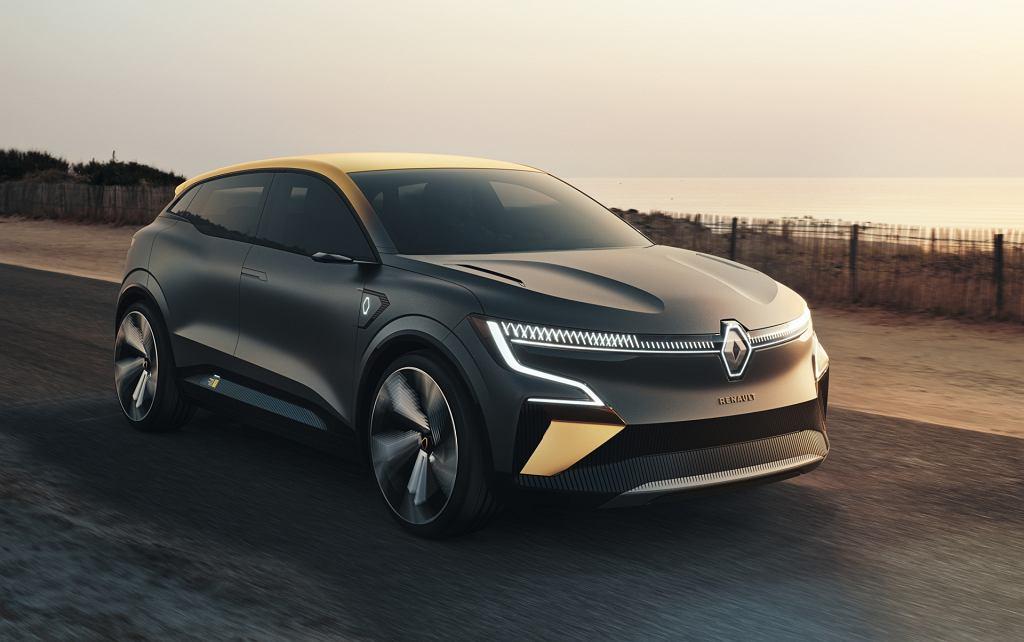 Studyjne Renault Megane eVision