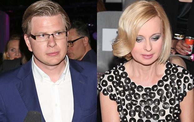 Filip Chajzer i Jolanta Pieńkowska