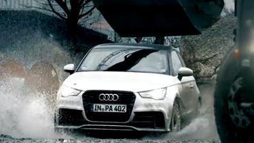 Gymkhana Audi A1 quattro