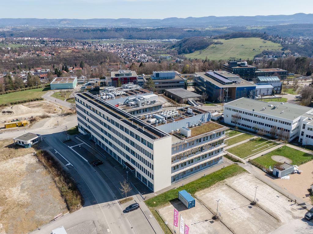 Niemcy, siedziba firmy CureVac.