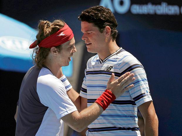 Australian Open. Niespodzianki w pierwszej rundzie turnieju męskiego. Odpadli Raonic i Bautista-Agut, Zverev nie zachwycił