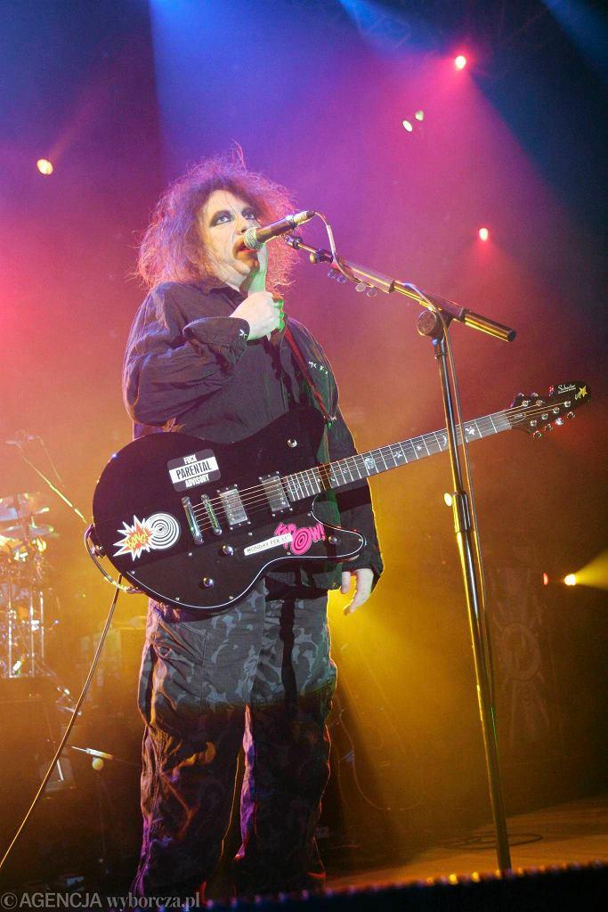 Robert Smith, zespół The Cure / Robert Smith, zespół The Cure/ Fot.DAWID CHALIMONIUK