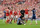 Zagrał ręką, strzelił gola, a Arsenal cieszył się z Pucharu Anglii