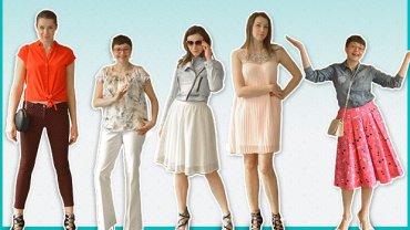 Od lewej redaktorki: Ola, Kasia, Natalia