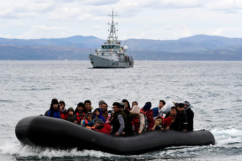 Uchodźcy i imigranci przybywający do Grecji, 2020 r.