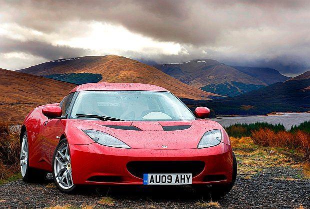 Evora to najnowszy model Lotusa. W ofercie od 2009 roku