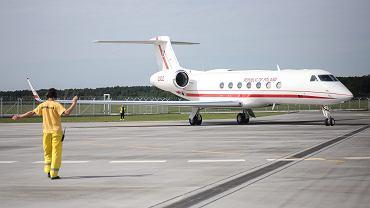 Samolot Gulfstream G550  Generał Kazimierz Pułaski