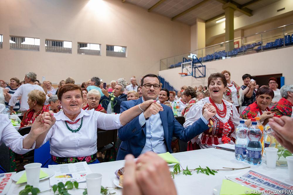 Mateusz Morawiecki na spotkaniu z Kołami Gospodyń Wiejskiej