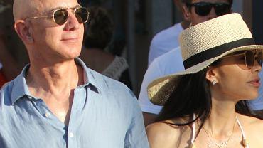 Jeff Bezos z ukochaną