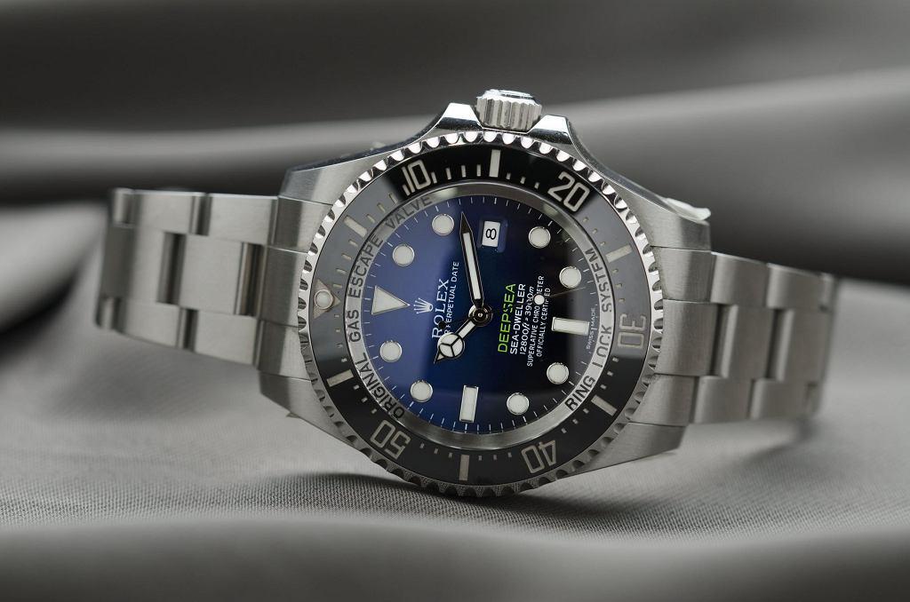Zegarek męski luksusowej marki - Rolex