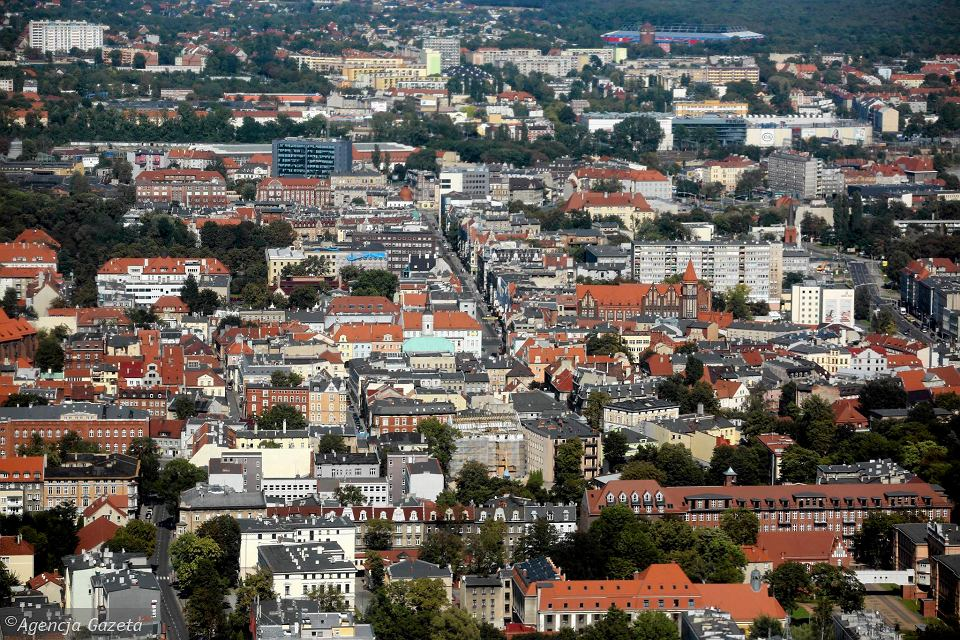 Panorama Gliwic