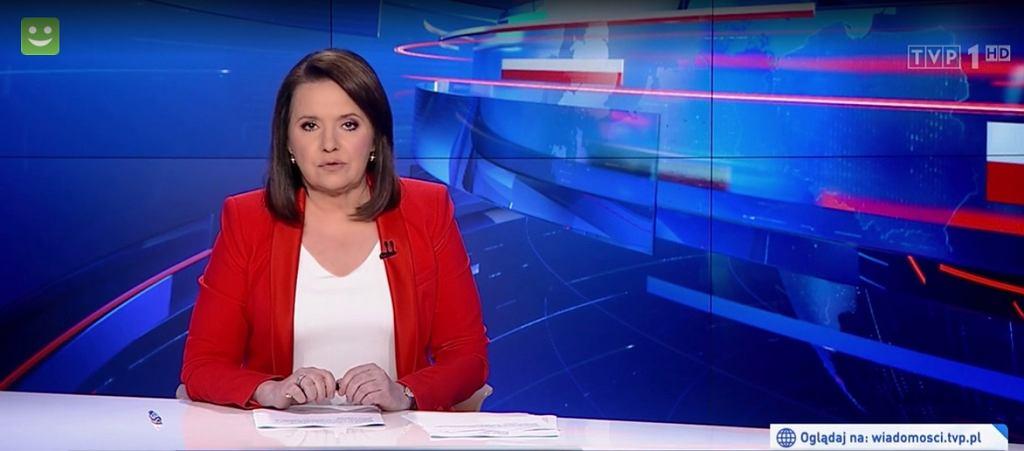 Danuta Holecka wróciła do TVP - pojawiła się w barwach narodowych
