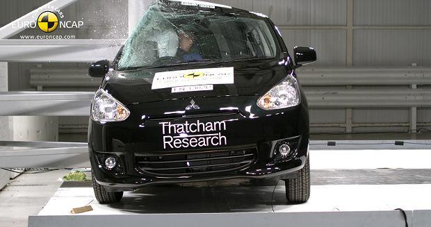 Testy zderzeniowe Euro NCAP