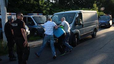 Odra Opole - Zagłębie Sosnowiec 0:1. Kibic zatrzymany po meczu