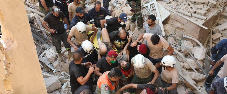Bejrut wprowadza stan wyjątkowy. Wzrosła liczba ofiar śmiertelnych