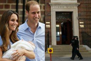 Księżna Kate i Książę William z dzieckiem