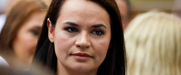 Swiatłana Cichanouska na Litwie. Władze Białorusi zmusiły ją do wyjazdu