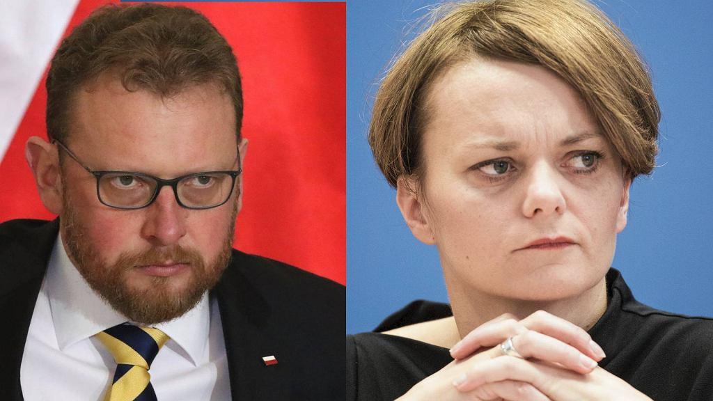 Łukasz Szumowski podaje się do dymisji, Jadwiga Emilewicz komentuje