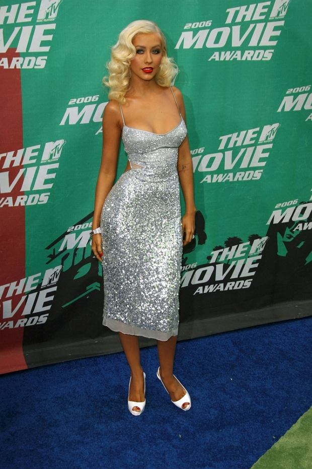 06/03/2006 - Christina Aguilera - 2006 MTV Movie Awards - Arrivals - Sony Pictures Studios - Culver City, CA - Keywords:  -  -  - Photo Credit: Chris Hatcher / Photorazzi - Contact (1-866-551-7827)