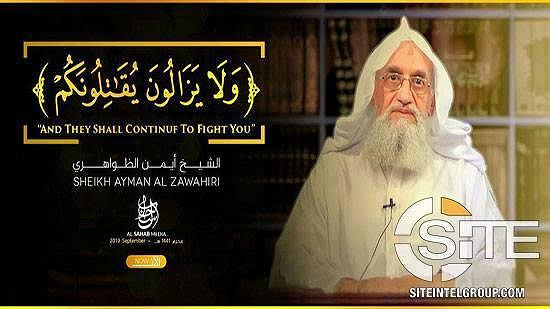 Lider Al-Kaidy Ajman al-Zawahiri