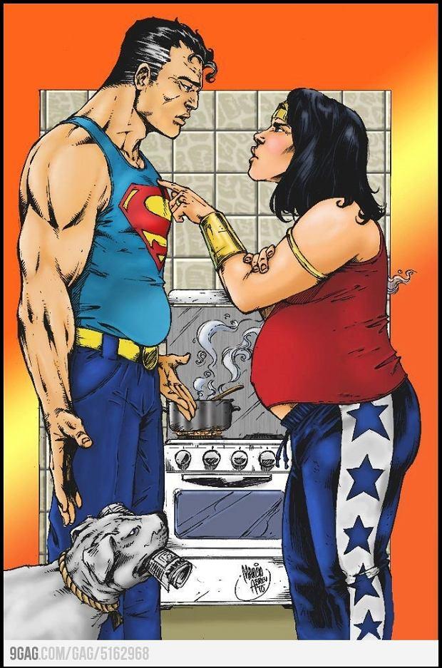 I Superman wymięka