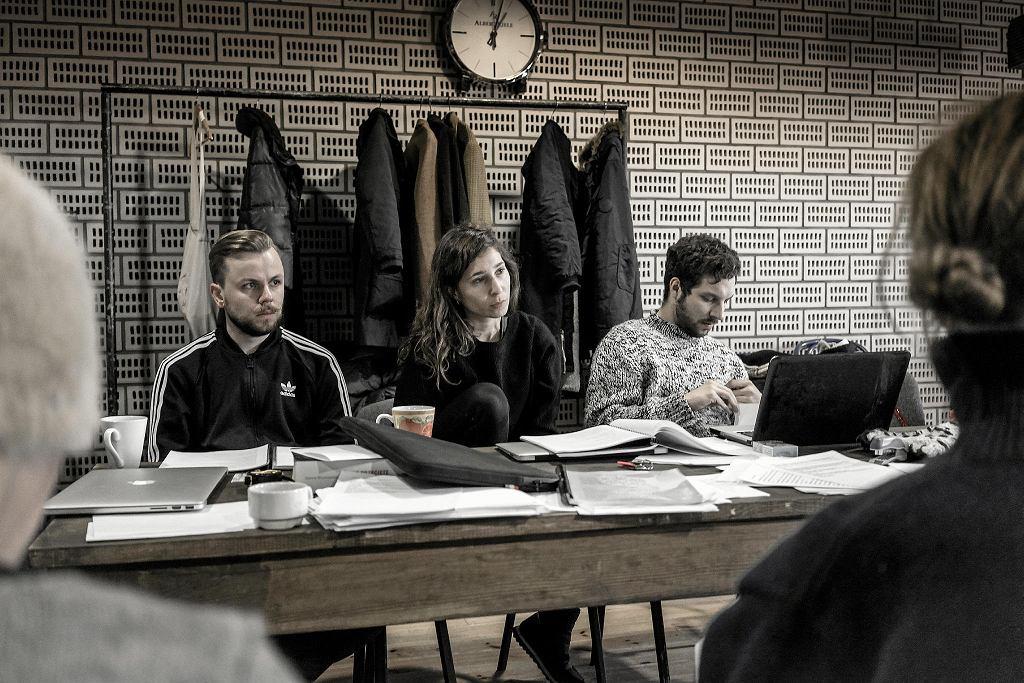Próba spektaklu 'Kilka obcych słów po polsku', reż. Anna Smolar, Teatr Polski w Warszawie / fot.RAFAŁ PARADOWSKI