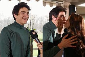 Anna Mucha pocałowała Nikodema Rozbickiego