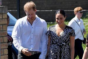 Książę Harry, Meghan Markle i Archie w Afryce