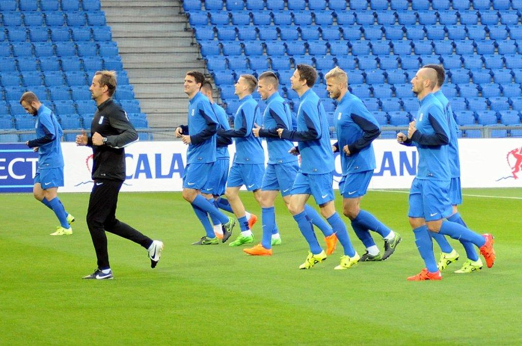 Liga Europejska, FC - Basel - Lech Poznań. Trening Kolejorza na St. Jakob Park