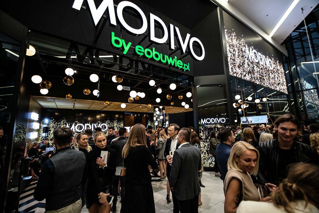Pierwszy stacjonarny sklep Modivo