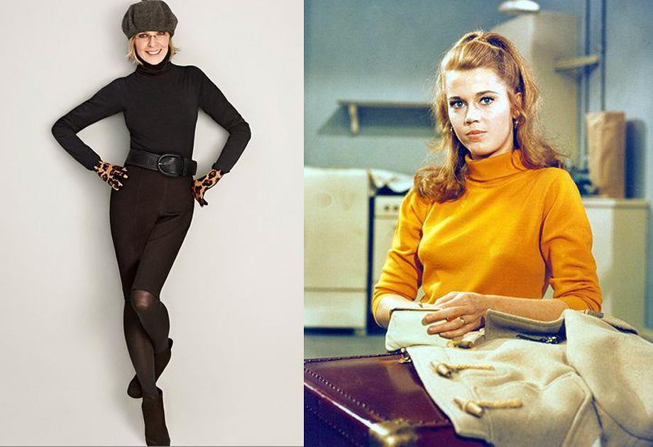 Diane Keaton i Jane Fonda, mimo dojrzałego wieku, nadal wyznaczają trendy. Diane ma obecnie 72, a Jane 80 lat