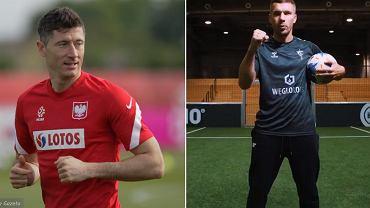 Lukas Podolski i Robert Lewandowski