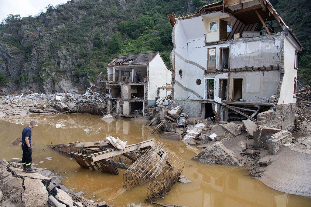 Po powodzi w Niemczech - zdjęcie ilustracyjne