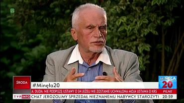 Piotr Andrzejewski w programie 'Minęła dwudziesta'