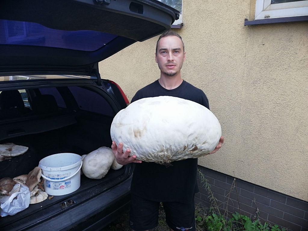 Największy okaz znaleziony przez pana Kamila ważył 7,5 kilograma