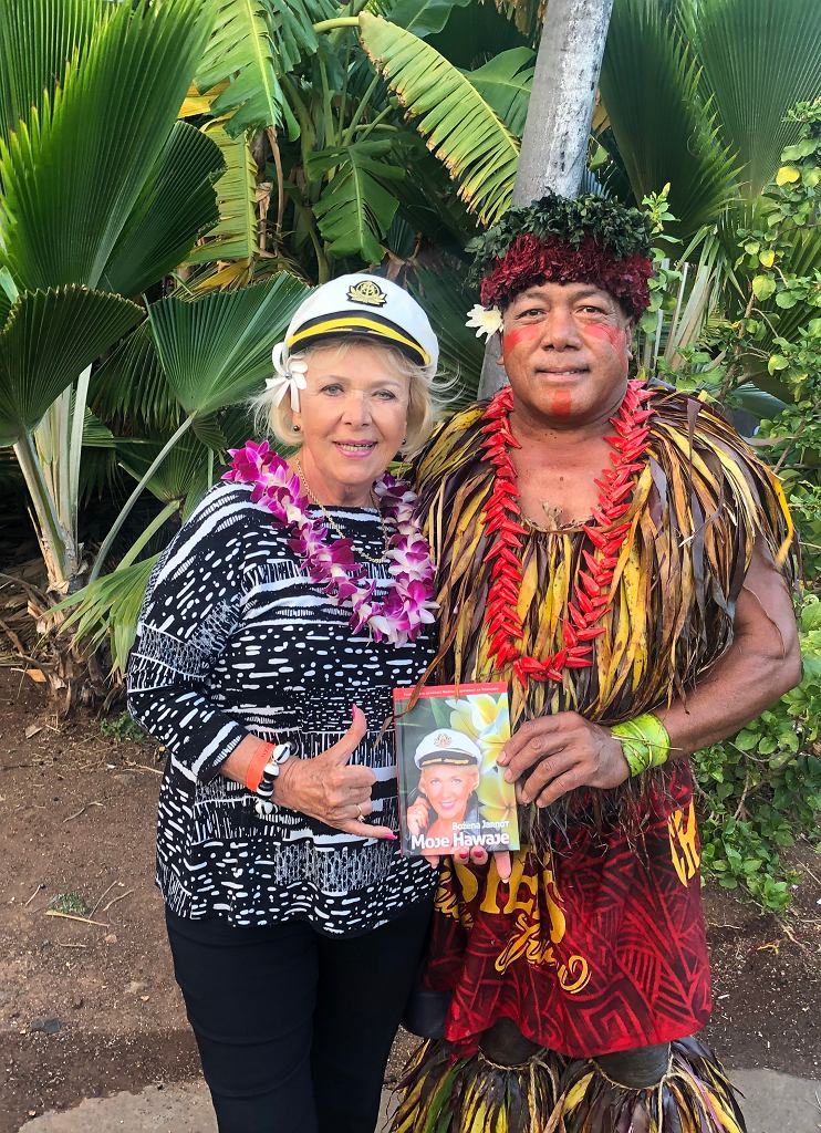 Bożena Jarnot napisała książkę o swoim życiu pt. 'Moje Hawaje'